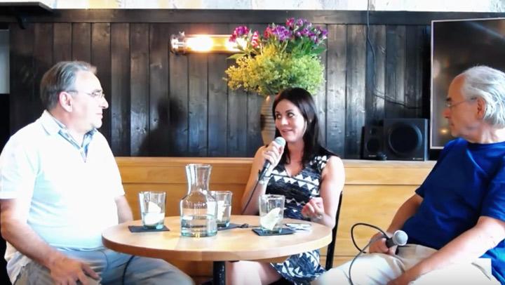 Jolanda Spiess-Hegglin und Alex Baur