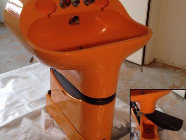 Salza – Waschtisch mit integriertem Bidet
